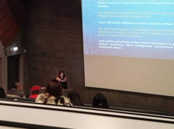 Dean of Suan Sunandha International School of Art (SISA) joined the international conference at University of Iceland.
