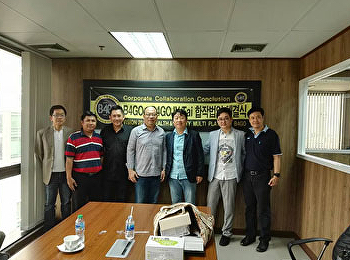 SISA instructor had a meeting with B4GO executives from Korea about performing art training course