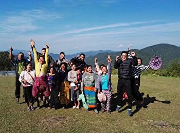SISA research crew landed on Doi Bo High Land
