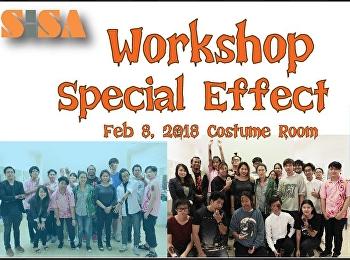 SISA จัดโครงการ Workshop แต่งหน้า Special Effect