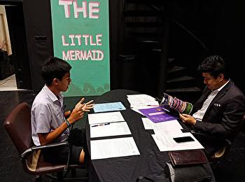 บรรยากาศการสัมภาษณ์นักศึกษารอบโควต้า ประจำปีการศึกษา 2561