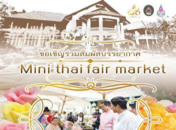 Mini Thai fair market