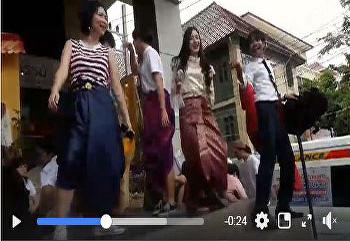 SISA เต้นเก่ง!! มาถ่ายรูปชุดไทยย้อนยุคในราคา 50 บาทถูกแล้วถูกอีกก!!