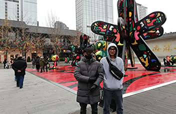 Nat and Mike, our former SISA students are now pursuing a graduate level at Chengdhu University, Panda city of China. Will dispatch more SISA students next year.