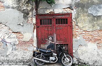 SISA on art street, Penang,Malaysia