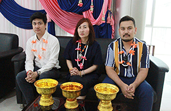 SISA participates in the Songkran Festival