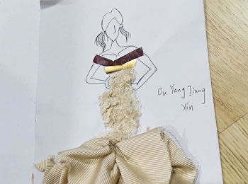 Costume design project from my Chinese student