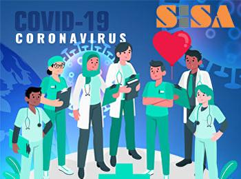 SISA ขอบคุณและร่วมส่งกำลังใจให้ทีมแพทย์
