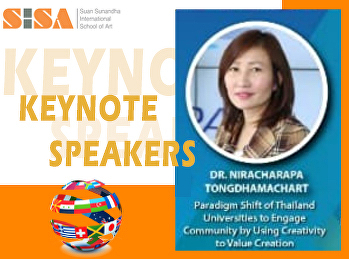 SISA was honored as Keynote Speakers at Creative Industry International Conference 2020.
