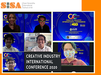 SISA presents international academic achievements at Creative Industry International Conference 2020.